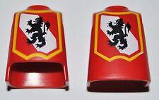 13381 Cuerpo león rojo 2u playmobil,body,corpo,medieval
