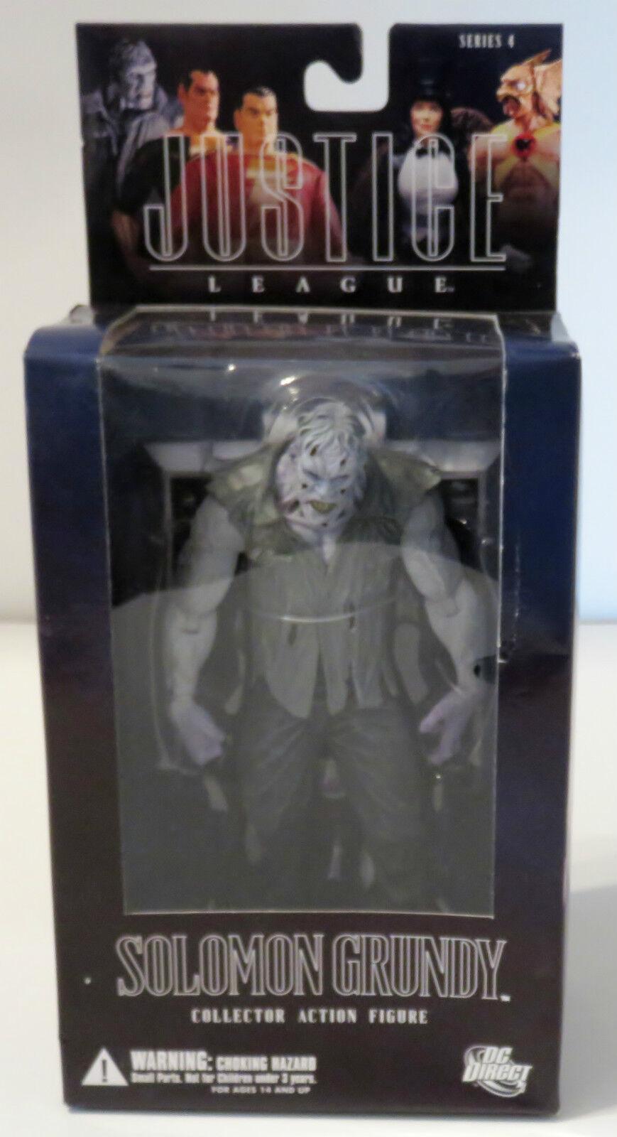 Alex Ross Justice League : Series 4 - Solomon Grundy Collector Action Figure