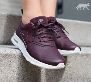 the best attitude 8bffb a9aaa Image is loading NIKE-AIR-MAX-THEA-PREMIUM-PRM-UK-6-
