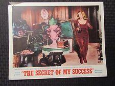 "1965 THE SECRET OF MY SUCCESS Original 14x11"" Lobby Card G/VG 3.0 Honor Blackman"