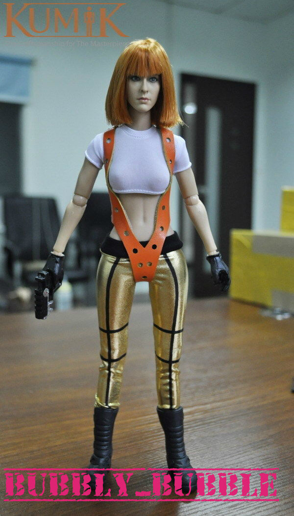 KUMIK The Fifth Element Element Element Alice 1 6 Female Figure Head Sculpt Set SHIP FROM USA 22b743