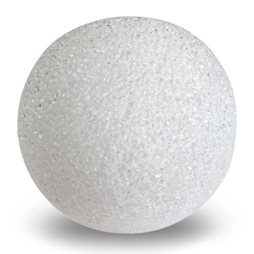 1 LED blancos ø 12 cm batería bola de plástico lámpara lámpara de bala Bengala