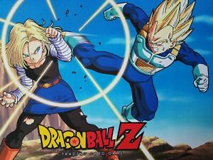 Dragonball-Z-TCG-RARE-Promo-Playmat-Panini-Trading-Card-Game-New-unplayed