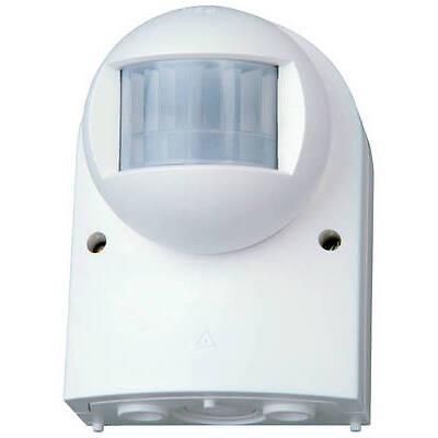 Kopp Bewegungsmelder 140° infraControl 3 Draht Aufputz Infrarot IP54 arktis-weiß