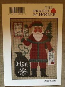 2019 Schooler Santa Cross Stitch Chart