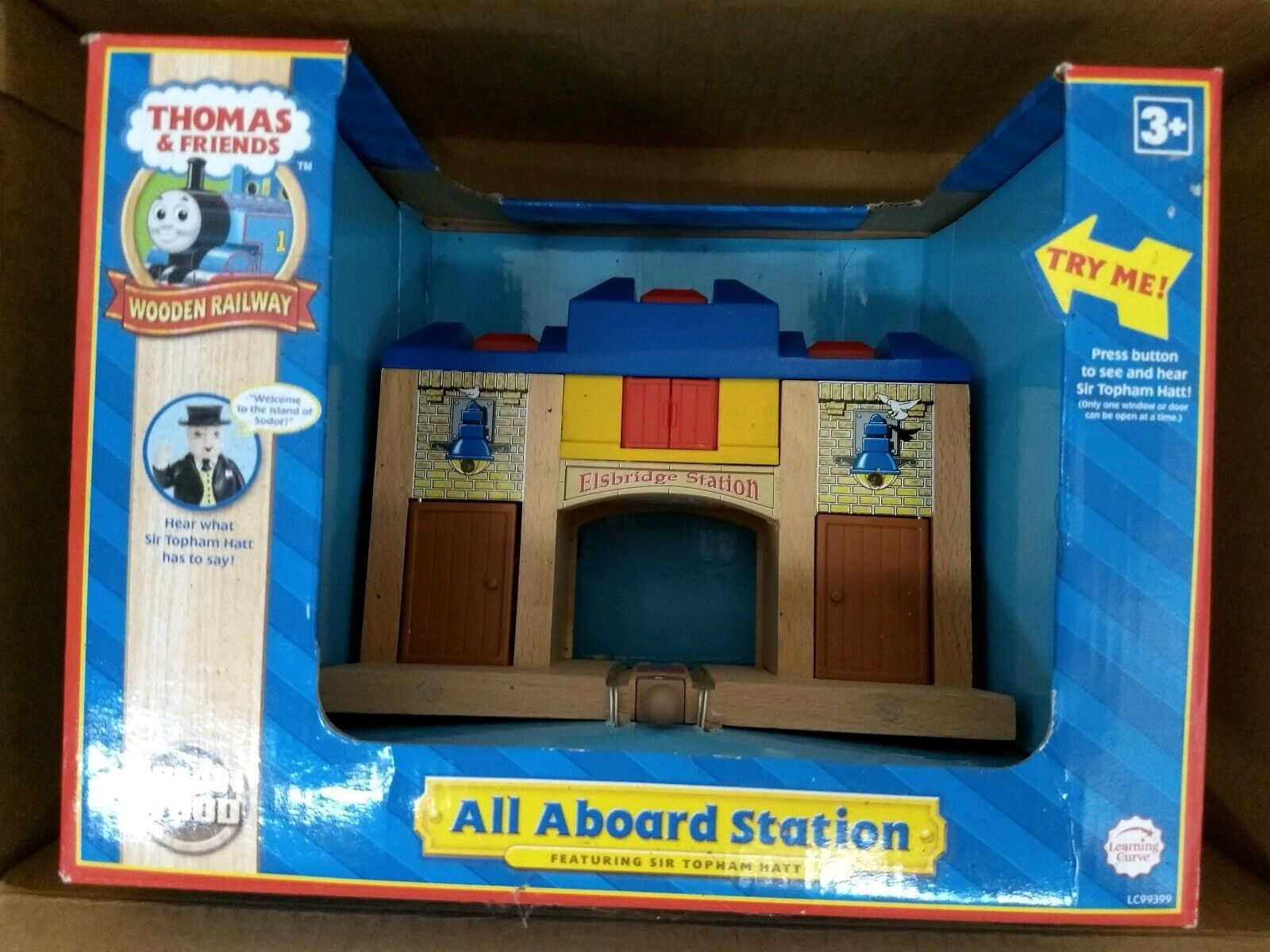 LC99399 Thomas and Friends All Aboard Station New In Box