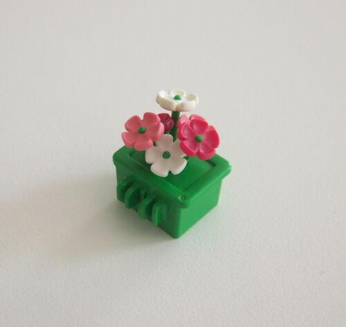 PLAYMOBIL O2133 Jardinière avec Fleurs pour Grille du Parc 3634 ZOO
