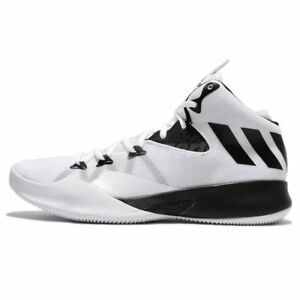 Adidas Dual Threat 2017 White Black Men Basketball Shoes Sneakers ... 6e21f9f14