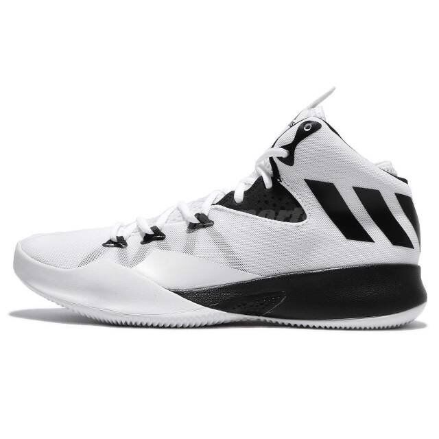 b7d9364cbde ... discount code for adidas dual threat 2017 white black men basketball  shoes sneakers trainer bb8377 uk