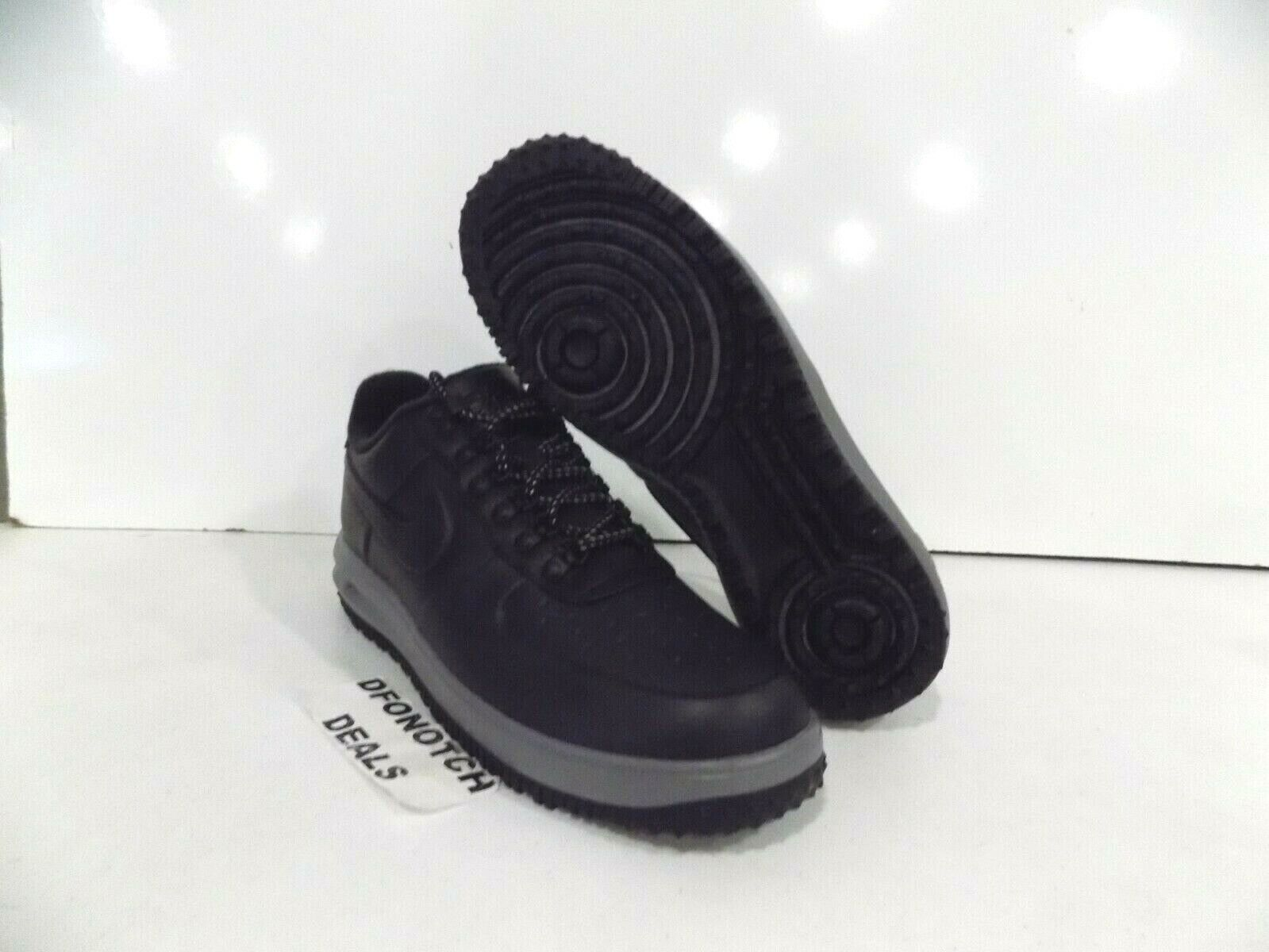 Nike Lunar Force 1 LF1 Duckboot Low Sz 11 12 Black Grey AA1125-004 NEW  140