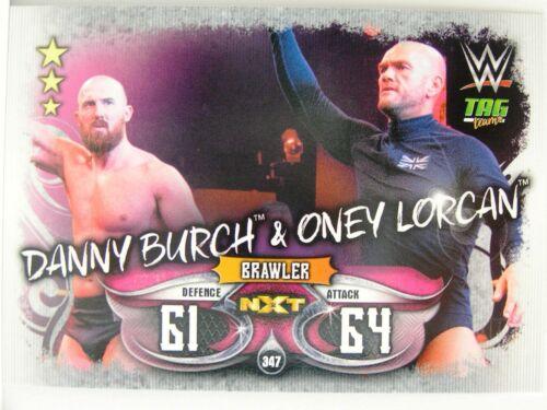 Slam Attax #347 Danny Burch /& Oney Lorcan-Live 2018