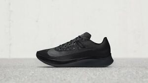 Nike Zoom Fly Running Shoes Breaking Ice Triple Black Mens Sizes blackout