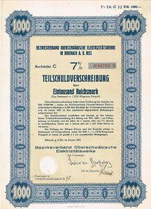 Bezirksverband-Oberschwaebische-E-werke-Biberach-a-d-Riss-1927-TS-1000-RM-geloc