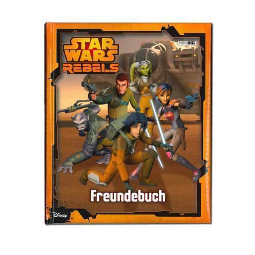 Star Wars Rebels Freundebuch Top Trumps Quartettspiel Jedi Krieg der Sterne
