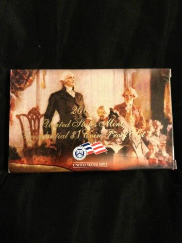 2007 United States Mint Presidential $1 Coin proof Set Original Box//COA
