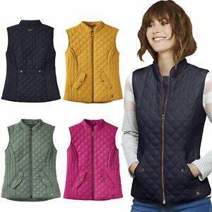 equestrian ridding gillet Women ladies  Quilted Fur-lined Zipped Bodywarmer
