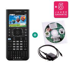 TI Nspire CX CAS Taschenrechner Grafikrechner + Ladekabel Lern-CD Garantie