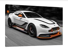 Aston Martin Vantage GT12 - 30x20 Inch Canvas - Framed Picture Art Print