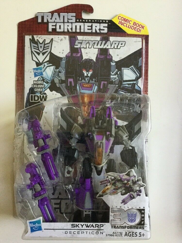 Transformers Generations Thrilling 30 Deluxe Class IDW Skywarp