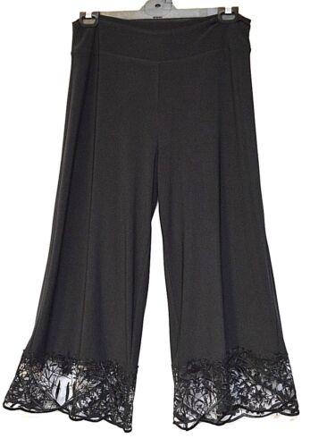 75000005201 S Sz Plus Jersey Ourlet Dentelle Pantalon Motto 16 18 Nwt Culotte Doux Stretch Drapé wgFnCpq