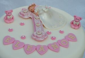 Edible-personalised-baby-girl-Christening-Baptism-cake-topper-decoration