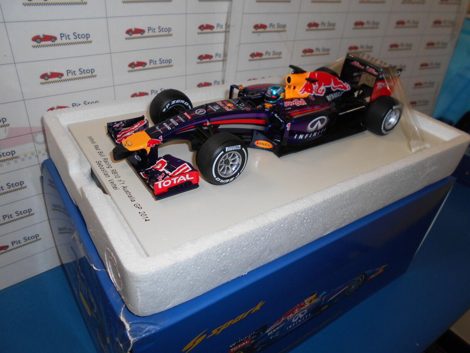 Spa18s135 sparkmodel Infiniti redbull rb10 S. Vettel Australian GP 2014 1 18