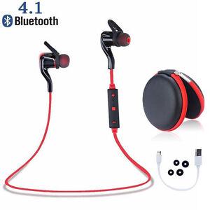 Bluetooth Wireless Stereo Earphone Sport Headsets Headphone For Samsung IPhone