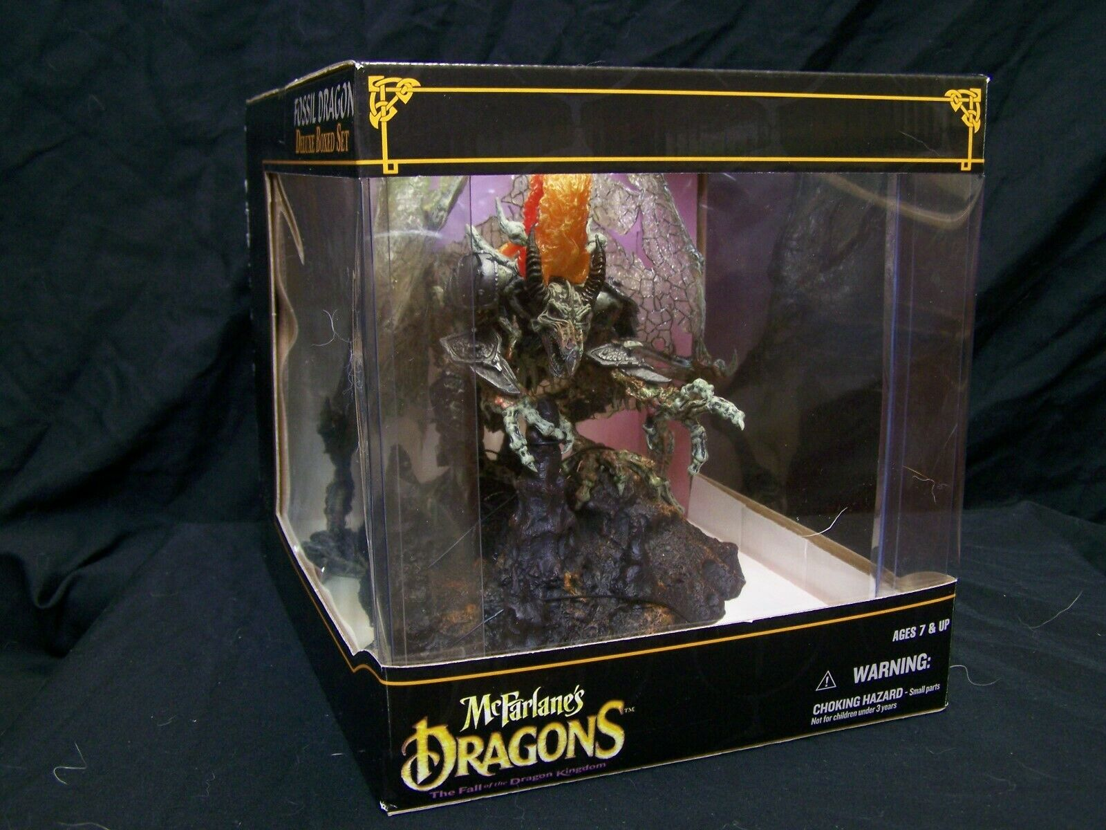 McFarlane;s Dragons_Fossil Dragon_Deluxe scatolaed Set_Serie 6