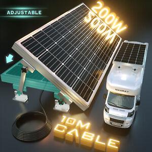 20-OFF-200W-12V-Mono-Solar-Panel-Kit-Caravan-Power-Battery-Charging-Home