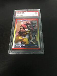 1990-Score-Junior-Seau-RC-PSA-Mint-9-Card-302-NFL-HOF-San-Diego-Chargers