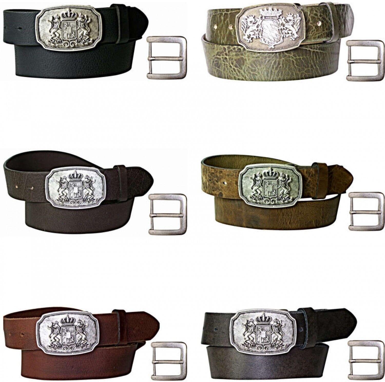 Fronhofer Cintura cintura vestito bavaria fibbia, FIBBIA CON bavarese STEMMA