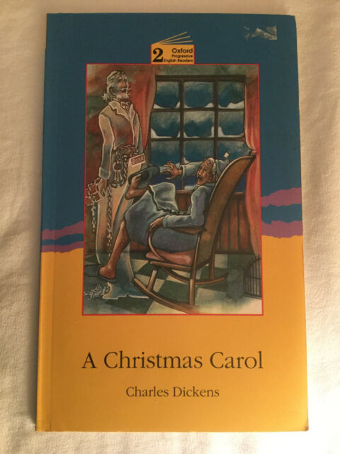 A Christmas Carol by Charles Dickens (1993, UK-Trade Paper) Oxford Grade 2