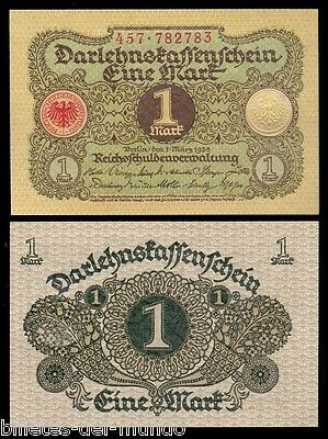 B-D-M ALEMANIA GERMANY 1 MARK 1920 PICK 58 SC UNC