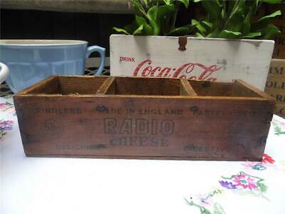 Antique Vintage Pine Cheese Box