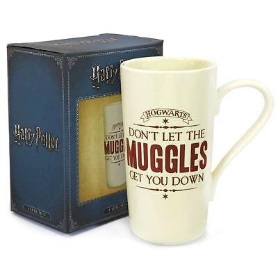 Harry Potter Latte Mug Officially licensed dont let the Muggles get you down