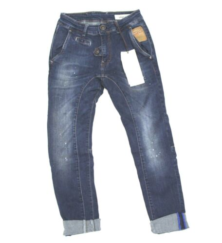 Jeans Displaj Pantalone Cavallo Vanessa Donna Sceso Elasticizzato EWDIH29