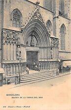 Br33354 Barcelona Iglesia de la Virgen Del Mar spain