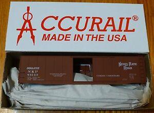 Accurail-Ho-5106-1-Rd-84149-Niquel-Placa-15-2m-Enchufe-Puerta-Vagon-Kit