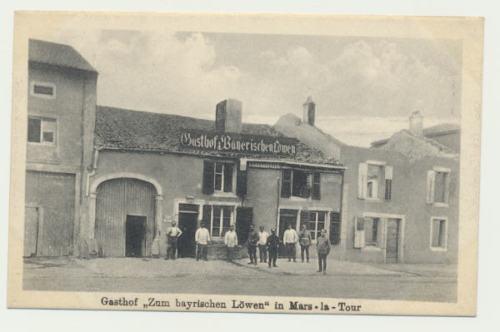 AK / Gasthaus Zum Bayrischen Löwen in Mars-la-Tour