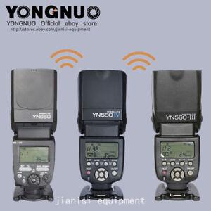 Yongnuo-Flash-Speedlite-YN560IV-YN560III-YN660-YN560TX-pour-selection-Canon-Nikon