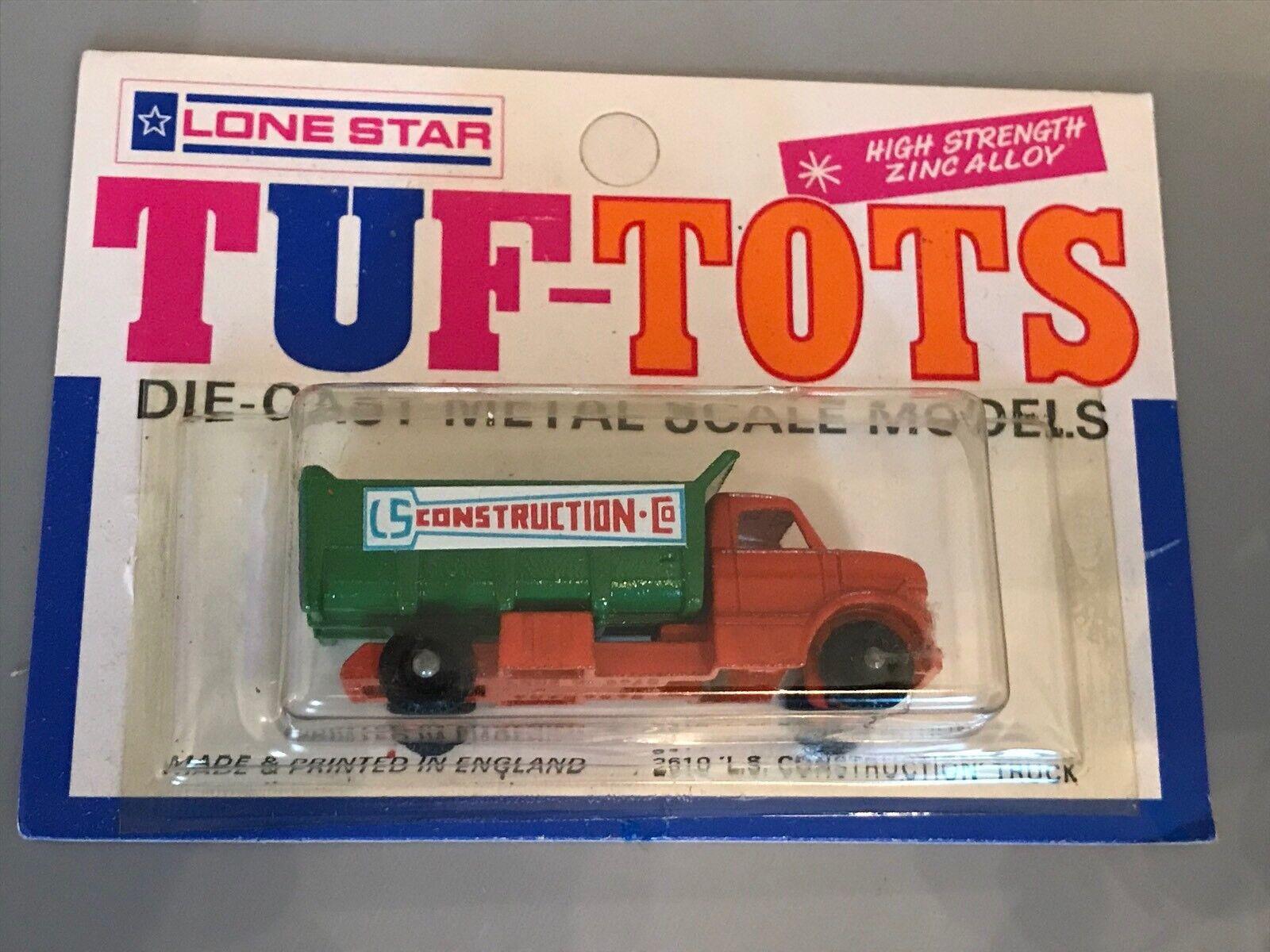 60% de descuento Raro Lone Estrella Tuf Tuf Tuf Tots 2610 construcción camión 1 85 En Blister casi nuevo y sin usar  entrega de rayos