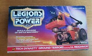 Legions Of Power Tech Dynasty Ground Terrors - Tonka 1986 Contenu scellé dans une boîte