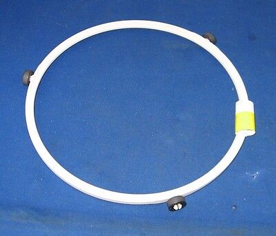 """7 3//8/"""" Diameter Microwave Turntable Roller Support Guide Ring KOR-630 441CH36010"""