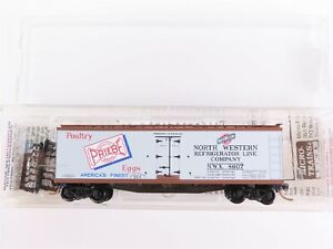 N-MTL-Micro-Trains-49520-NWX-Norfolk-Western-Priebe-Poultry-40-039-Reefer-8607