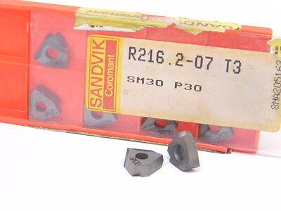 SANDVIK  R216.2-080204-2A GRADE 235 CARBIDE INSERTS NEW SURPLUS 10PCS