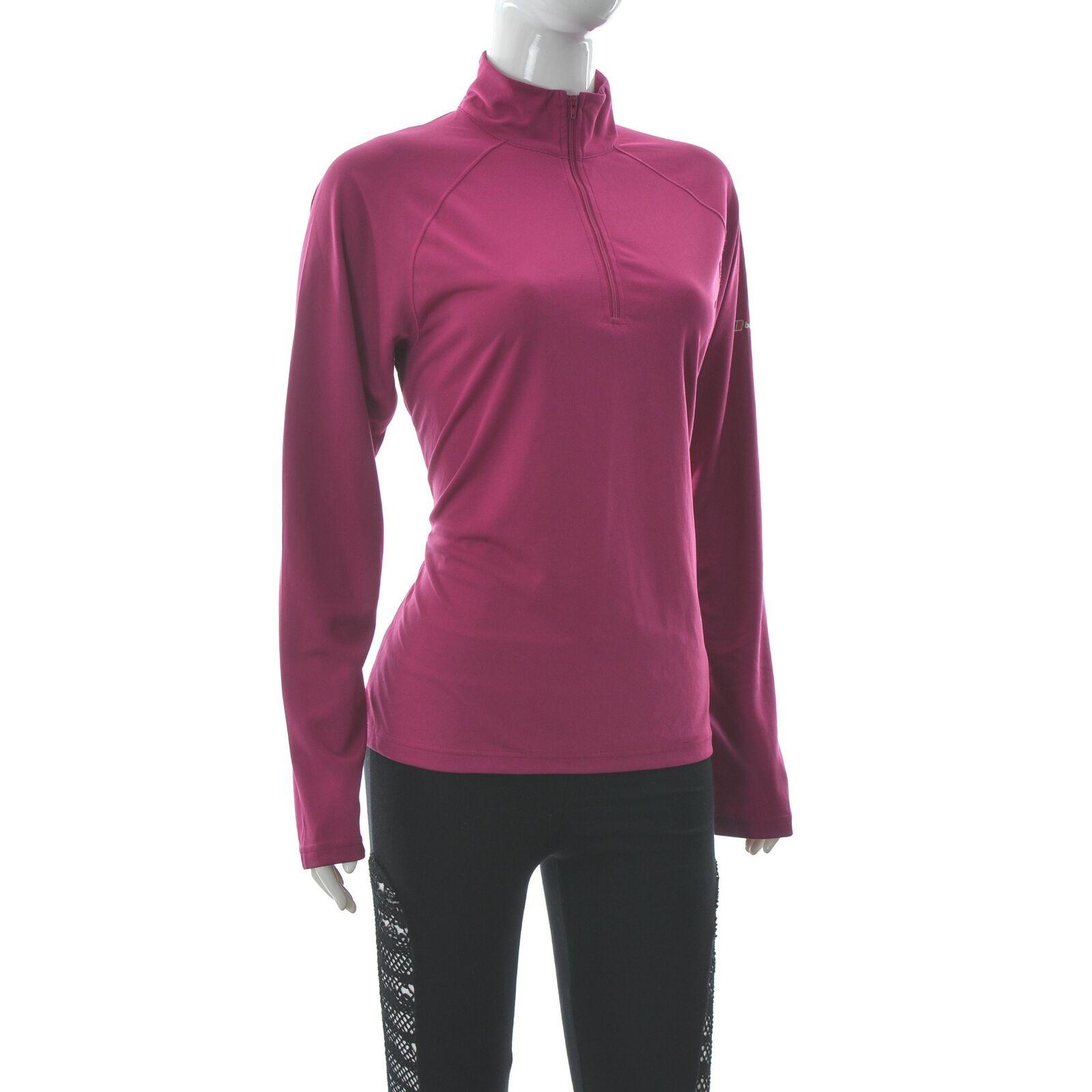 Berghaus Womens Half Zip Fleece Jacket Sportswear Jumper Size 14