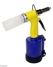 14 Air Riveter Tool Pneumatic Riveting Gun Pop Rivets Tools Automotive