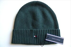5691f836 Image is loading New-TOMMY-HILFIGER-Green-Heather-Pima-Cotton-Cashmere-