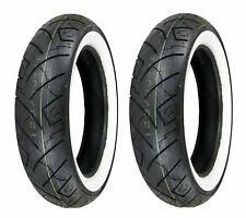 Shinko 130/90-16 & 130/90-16 777HD White Wall Tires Harley-Davidson FLH/FLT/FLST