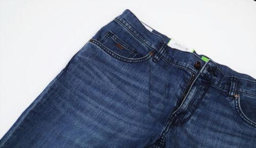 Hugo BOSS w42 l34 C-Delaware 1 STRETCH SLIM FIT jeans uomo 42//34 GREEN BLACK